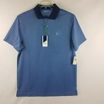 IZOD Men Performance Golf Cornflower Blue Short Sleeve Polo Shirt MSRP $55 - $29.95