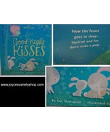Hallmark GOODNIGHT KISSES Children's Board Book BRAND NEW Bed Time - $6.99