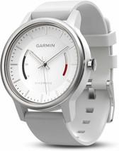 Garmin Vivomove Sport Fitness Activity Tracker White with Sport Band NEW - $99.50