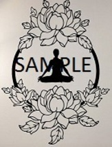 YOGA AND FLOWERS CROSS STITCH CHART - $10.00