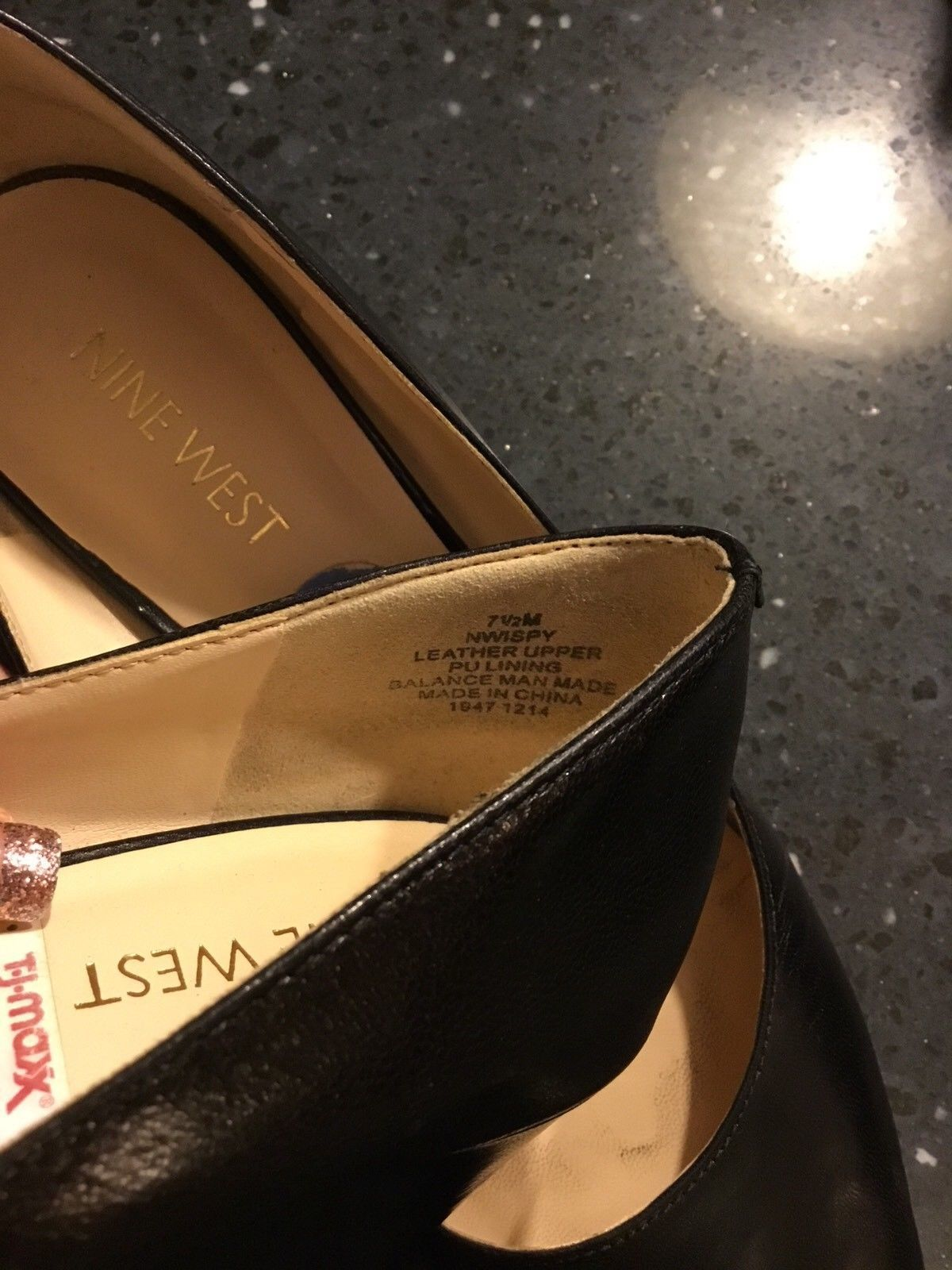 """d63ff83c15 Nine West """"I Spy"""" Round Toe Low Wedge Heels and 50 similar items"""