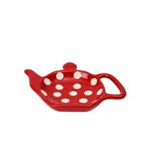 Traditional Teapot shape,Tea Bag Holder, keeps Kitchen Tidy, Kitchen Decor - $10.85