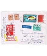 Stamps Art Hungary Envelope Budapest Olympic Stadium Moscow - $3.79