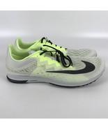 Nike Air Zoom Streak LT Platinum Men's Size 14 Racing Shoes 924514 001 - $68.19