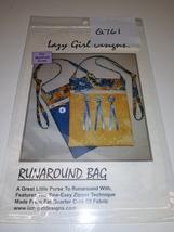 Run Around Bag Pattern, Lazy Girl Designs, (Q761) - $1.50