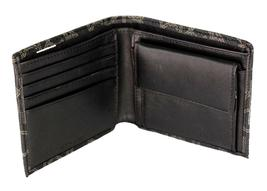 Calvin Klein Ck Men's Classic Leather Coin Case Id Wallet Black 79463 image 5