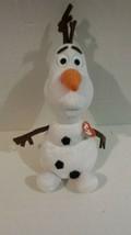 """OLAF TY Beanie Disney Plush Frozen Beanie Buddy Snowman 10"""" BUDDY NEW - $15.99"""