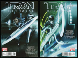 Tron Betrayal Comic Set 1-2 Lot Original Prequel to Disney's Tron Legacy... - $79.00