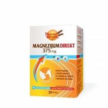 2X Natural Wealth Magnesium Direct 375mg 20 sachets - $24.74