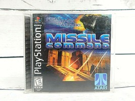 Missile Command Playstation Game PS1 Used Complete Atari 1999 Vintage Video Game - $8.50