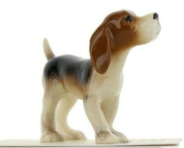 Beagle Ceramic Dog Figurine - Miniatures by Hagen-Renaker, INC - $9.29