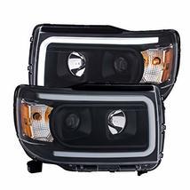 Anzo Usa 111381 Gmc Canyon 15-18 Projector Plank Style Headlight Black W/AMBER - $401.56