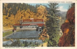 Troutdale Hotel Bear Creek Canyon Colorado 1920s postcard - $6.44