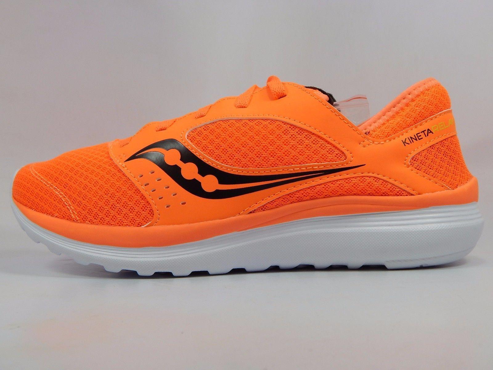 Saucony Kineta Relay Men's Running Shoes Size US 9 M (D) EU 42.5 Orange S25244-7