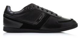 Hugo Boss Green Men's Premium Sport Fashion Sneakers Running Shoes Maze Lowp image 2