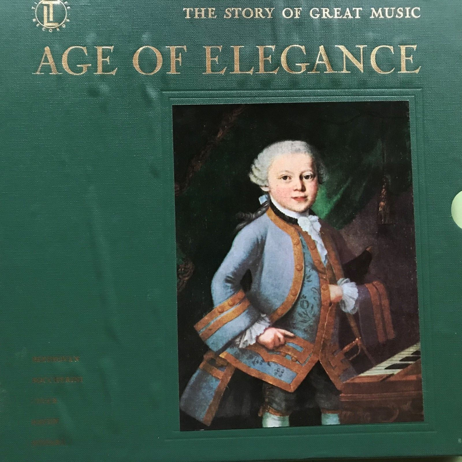 Primary image for Age of Elegance Time Life Story Great Music 4 Record Set book listen guide 141