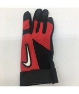 1Youth Lg. Nike Diamond Edge Batting/Golf Glove Red/Black- Right Hand Gl... - $5.89