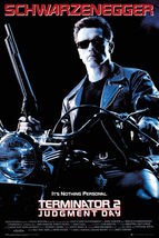 TERMINATOR 2 MOVIE POSTER - 24x36 SCHWARZENEGGER - $24.00