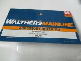 Walters Mainline Stock #910-200 Passenger Car Exterior Detailing Kit HO Scale image 1