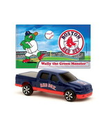 BOSTON RED SOX DIECAST TRUCK FORD F-150 PICK-UP 1:87 SCALE W/STICKER 2 P... - $5.98