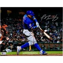Javier Baez Chicago Cubs Signed 8x10 Leg Up Photo Fanatics. - $193.05