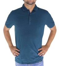 NEW MEN HUGO BOSS SPORT PREMIUM COTTON POLO SHIRT T-SHIRT GREEN 50100615... - $56.95