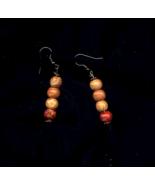 Vintage Prayer Bead blessed Earrings - $5.00