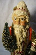 Vaillancourt Folk Art Gold European Father Christmas, signed by Judi! Last one! image 5