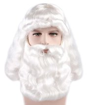 Adult Fancy Santa Claus Wig and Beard Set  - $54.85