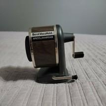 Vintage Berol VacuHold Apsco Pencil Sharpener Vacuum Mount Desk 6 Hole W... - $24.99
