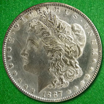 1887-O US Morgan Silver Dollar in Good   Condition - $64.99