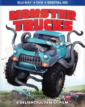 Monster Trucks (2017, Blu-ray/DVD)