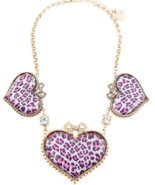 Betsey Johnson Heart Necklace. NWT - $39.99