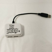 Playstation 3 PS3 DJ Hero White Dongle Only Activision Turntable Receiver White  - $29.02