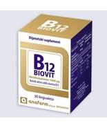 ANAFARM - B12 BIOVIT - BIOLOGICALLY ACTIVE FORM OF VITAMIN B12 - 30 LING... - $24.00