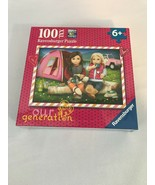 """NEW Ravensburger 100 Piece XXL Puzzle Our Generation """"Camping"""" Age 6+ - $12.86"""