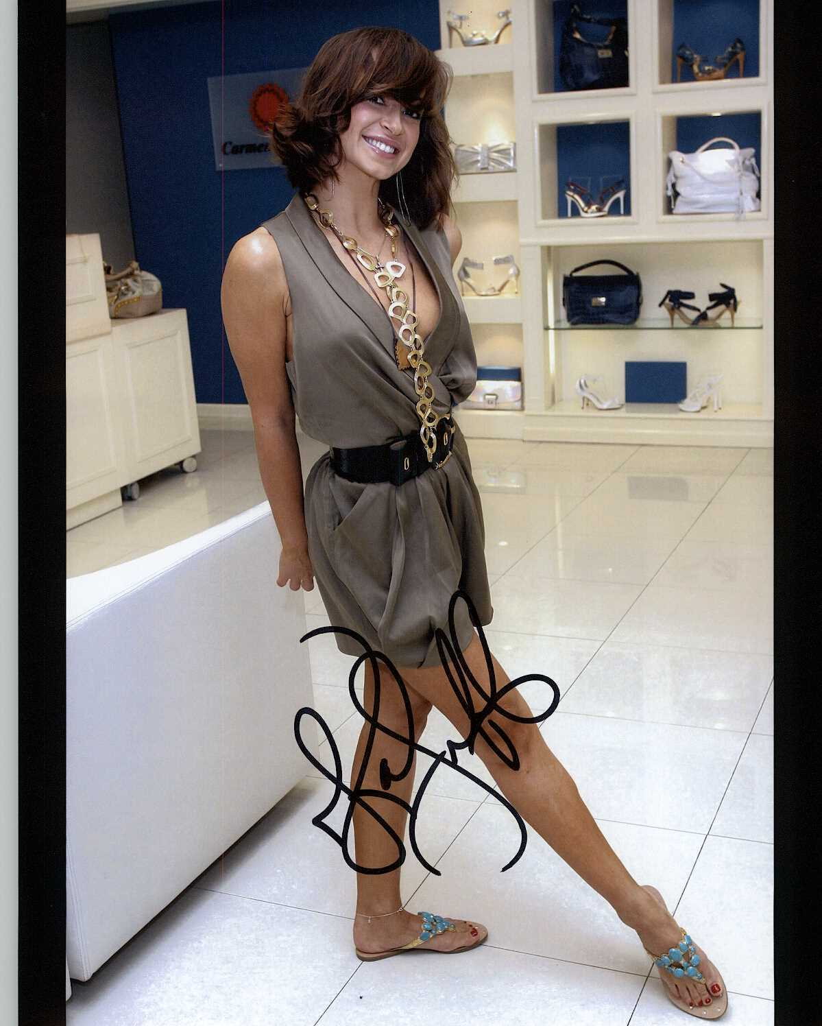 Primary image for Karina Smirnoff Signed Autographed Glossy 8x10 Photo