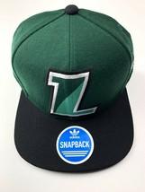 Adidas Loyola Maryland Greyhounds  Green Adjustable Wool Snapback Cap Hat - $21.24