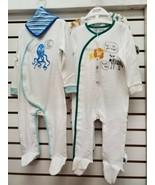 MINOTI BABY boy  SleepSuit 4 pc INFANT 9-12M NWT $25 - $24.75