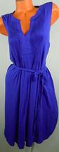 New OLD NAVY 3X 22 24 Sundress DRESS Blue BELTED Rockabilly Party Wedding - €27,55 EUR