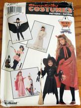 Costumes Pirate Knight Princess Bride S M L Simplicity NO SEW Pattern 06... - $8.50