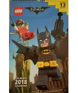 LEGO The Batman Movie 16 Month 2018 Calendar Includes 13 Posters NEW - $13.85