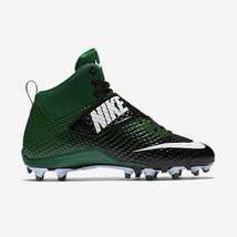 Nike LunarBeast Strike Pro TD Men 13.5 Football Cleats Green/Black NWT FREE SOCK - $27.67
