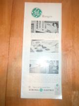 Vintage General Electric Ranges Print Magazine Advertisement 1961 - $3.99