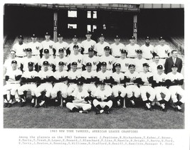1963 NEW YORK YANKEES 8X10 TEAM PHOTO BASEBALL MLB PICTURE NY AL CHAMPS - $3.95