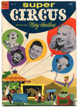 Super Circus 542 FN+ 6.5 Dell Four Color 1954 Mary Hartline  - $34.64