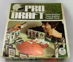 Vintage Pro Draft Game Parker Brothers Complete 50 Cards Football 1974 (... - $42.70