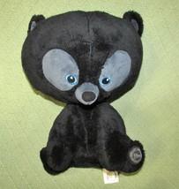 "DISNEY Store HAMISH BRAVE 13"" Plush Black Bear Cub Stuffed Animal Triple... - $14.01"