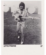 DAVID CASSIDY SIGNED AUTOGRAPHED 8x10 RP PROMO PHOTO SEXY THE PARTRIDGE ... - $18.99