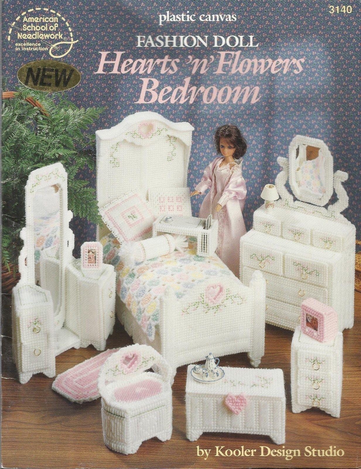 Plastic canvas fashion doll furniture patterns 18
